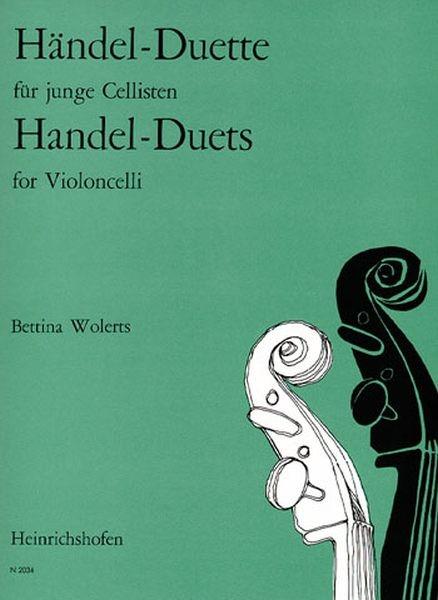 Haendel Georg Friedrich: Duette für junge Cellisten