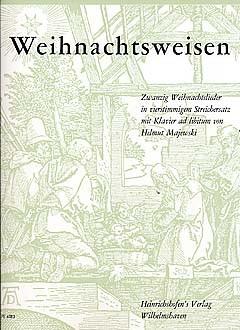 Majewski Helmut (Hrsg.): Weihnachtsweisen - 20 Weihnachtslieder