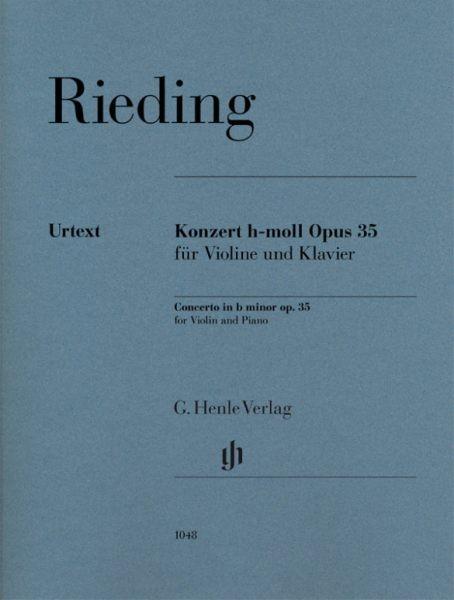 Rieding Oskar: Konzert h-moll op 35