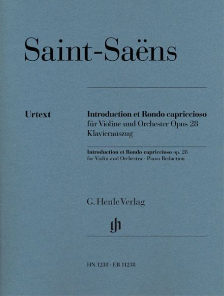 Saint Saens Camille: Introduction et Rondo capriccioso op 28