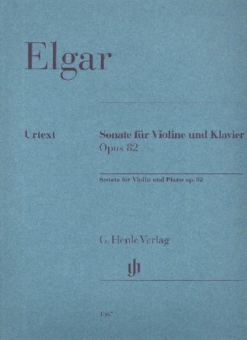 Elgar Edward: Sonate op 82