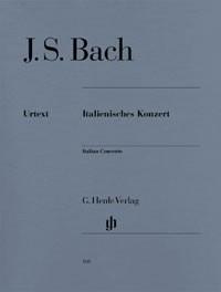 Bach, Johann Sebastian (1685-1750): Italienisches Konzert BWV 971