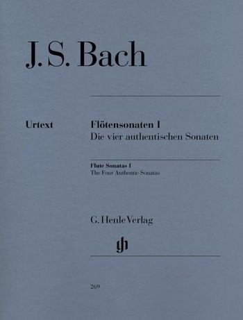 Bach, Johann Sebastian: Flötensonaten, Band I  (Die vier authentischen Sonaten