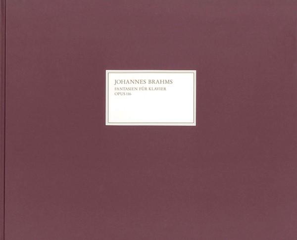 Brahms, Johannes: Fantasien op. 116,1-7