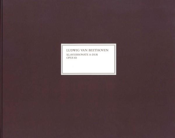 Beethoven, Ludwig van: Klaviersonate A-dur op.101