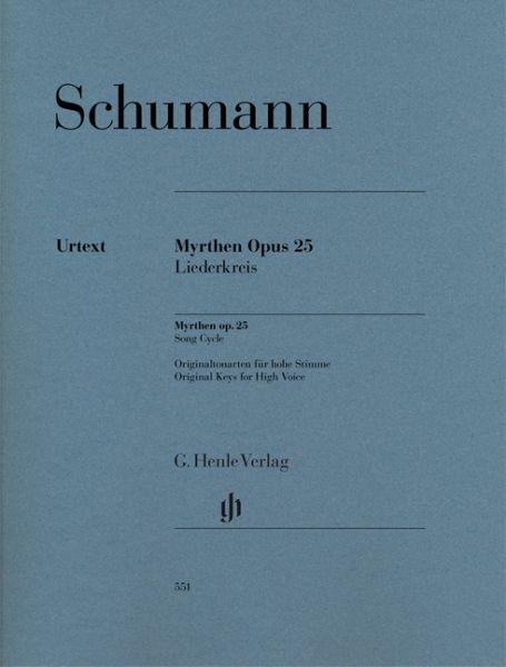 Schumann Robert: Myrthen op 25