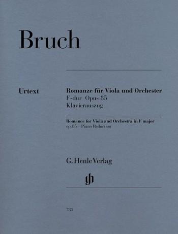 Bruch, Max: Romanze für Viola und Orchester F-Dur op. 85, Klavierau