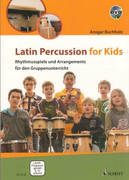 Buchholz, Ansgar: Latin Percussion for Kids