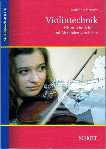 Christée, Jeanne: Violintechnik