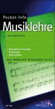 Pinksterboer, Hugo: Pocket-Info Musiklehre
