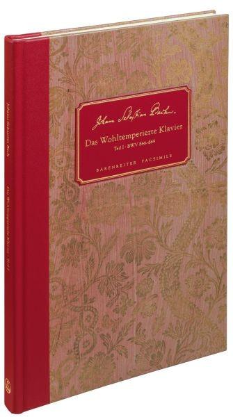 Bach, Johann Sebastian  [Hrsg:] Wolff, Christ: Das Wohltemperierte Klavier I BWV 846-869