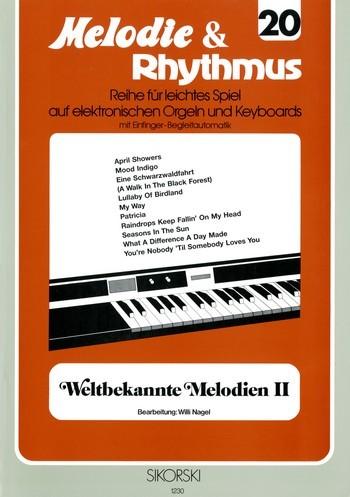 .: Melodie & Rhythmus, Heft 20: Weltbekannte Melodien 2