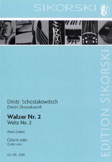 Schostakowitsch, Dmitri: Walzer Nr. 2 aus der Suite Nr. 2 für Jazz-Orchester (Second Waltz)