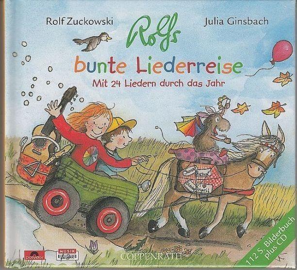 Zuckowski, Rolf / Ginsbach, Julia: Rolfs bunte Liederreise