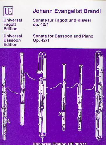 Brandl, Johann Evangelist: Sonate C-Dur Op. 42/1
