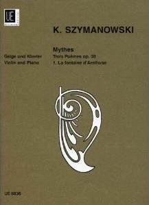 Szymanowski, Karol: Mythes 1. La fontaine d'Arethuse    Op. 30/1
