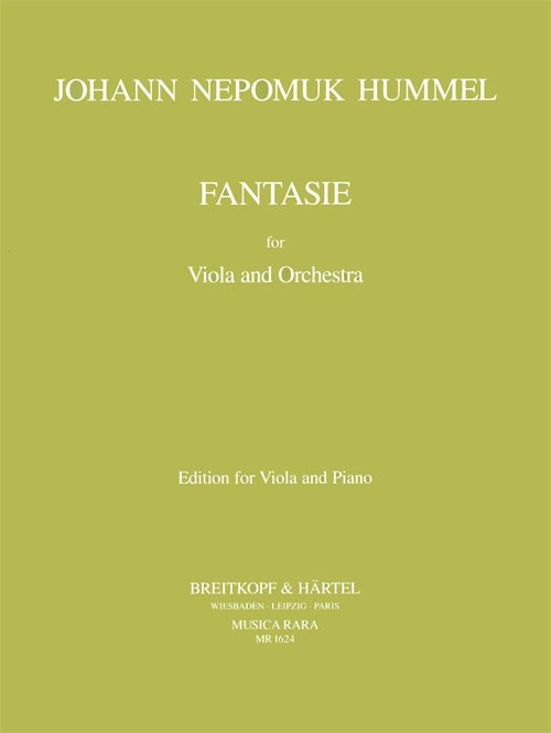 Hummel, Johann Nepomuk: Fantasie