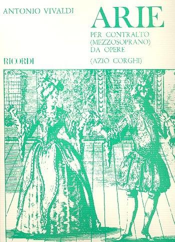 Vivaldi Antonio: Arie per contralto da opere
