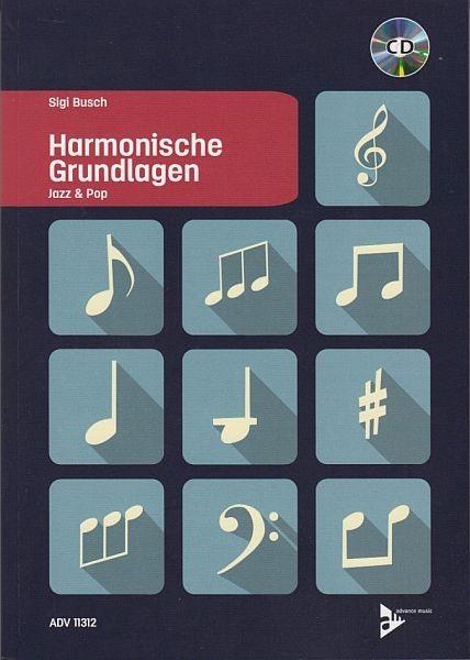 Busch, Sigi: Jazz & Pop Harmonische Grundlagen Mit Cd