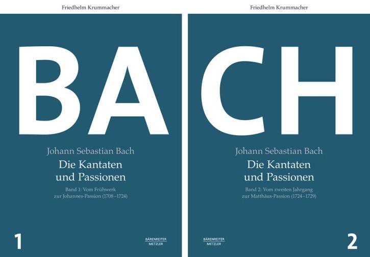 Krummacher, Friedhelm: Johann Sebastian Bach. Die Kantaten und Passionen