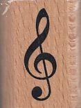 : Stempel Violinschlüssel