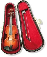 .: Miniatur Geige