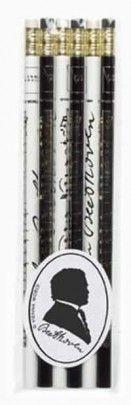 .: Bleistiftset Beethoven