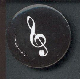 .: Magnet schwarz rund