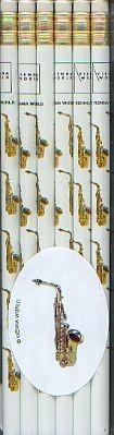 .: Bleistifte - Saxophon