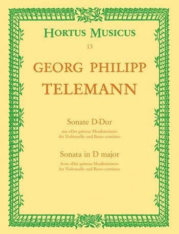 Telemann Georg Philipp: Sonate D-Dur (der getreue Musikmeister)