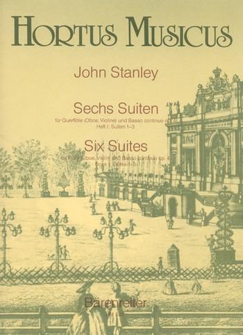 Stanley John: 6 Suiten op 4 Bd 1