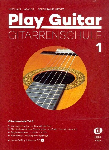 Langer Michael + Neges Ferdinand: Play guitar 1 - die neue Gitarrenschule