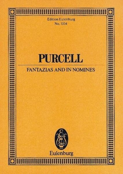 PURCELL H: FANTAZIAS+IN NOMINES