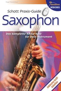 Pinksterboer, Hugo: Praxis-Guide Saxophon