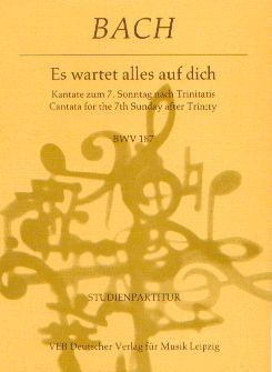 Bach, Johann Sebastian (1685-1750): Es wartet alles auf dich