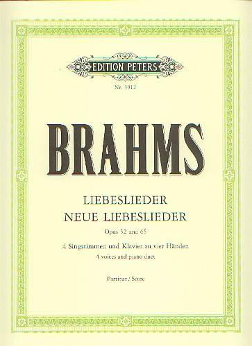 Brahms, Johannes (1833-1897): Liebeslieder - Neue Liebeslied