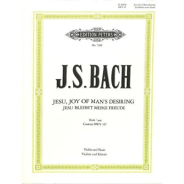 Bach, Johann Sebastian (1685-1750): Jesu bleibt meine Freude