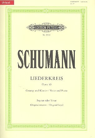 Schumann, Robert: Liederkreis op. 39