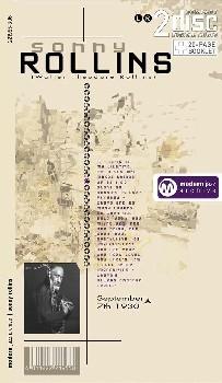 Modern Jazz Archive: Sonny Rollins