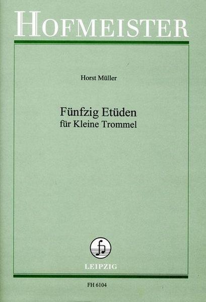Mueller, Horst: 50 Etueden