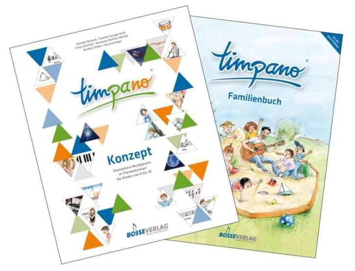 Dartsch, Michael u.a.: TIMPANO - Paket für Eltern-Kind-Gruppen