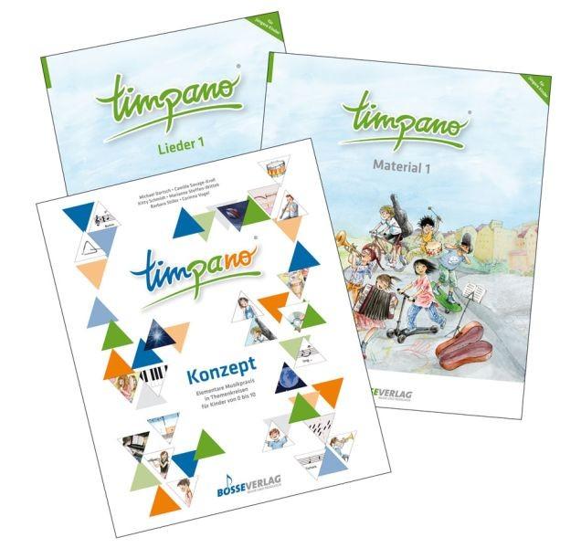 Dartsch, Michael u.a.: TIMPANO - Paket für die Arbeit mit jüngeren Kindern