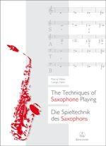 Weiss, Marcus+Netti, Giorgio: Die Spieltechnik des Saxophons