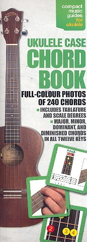 .: Ukulele case chord book