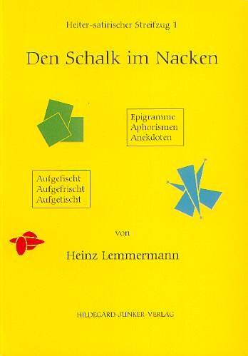 Lemmermann, Heinz (1930 - 2007): Den Schalk im Nacken