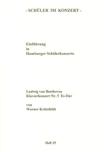 Beethoven, Ludwig van: SiK Klavierkonzert Nr. 5 Es-Dur