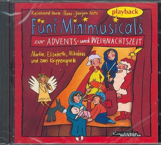 Horn, Reinhard & Netz, Hans-Jürgen: Fünf Minimusicals  - Playback-CD