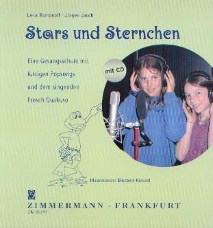 Romanoff, Lena & Jacob, Jürgen: Stars und Sternchen - Buch + CD