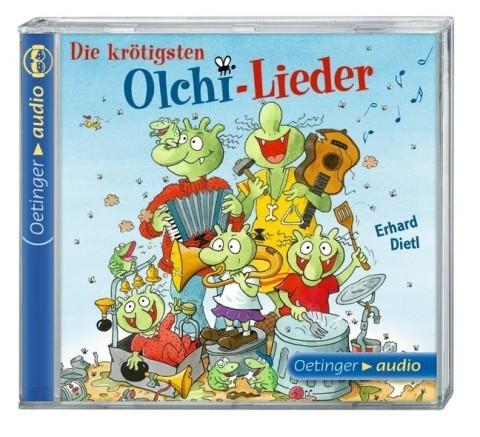 Dietl, Erhard: Die krötigsten Olchi-Lieder (: Die krötigsten Olchi-Lieder (CD)