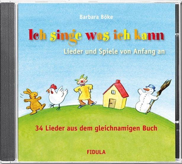 Böke, Barbara: Ich singe was ich kann - CD